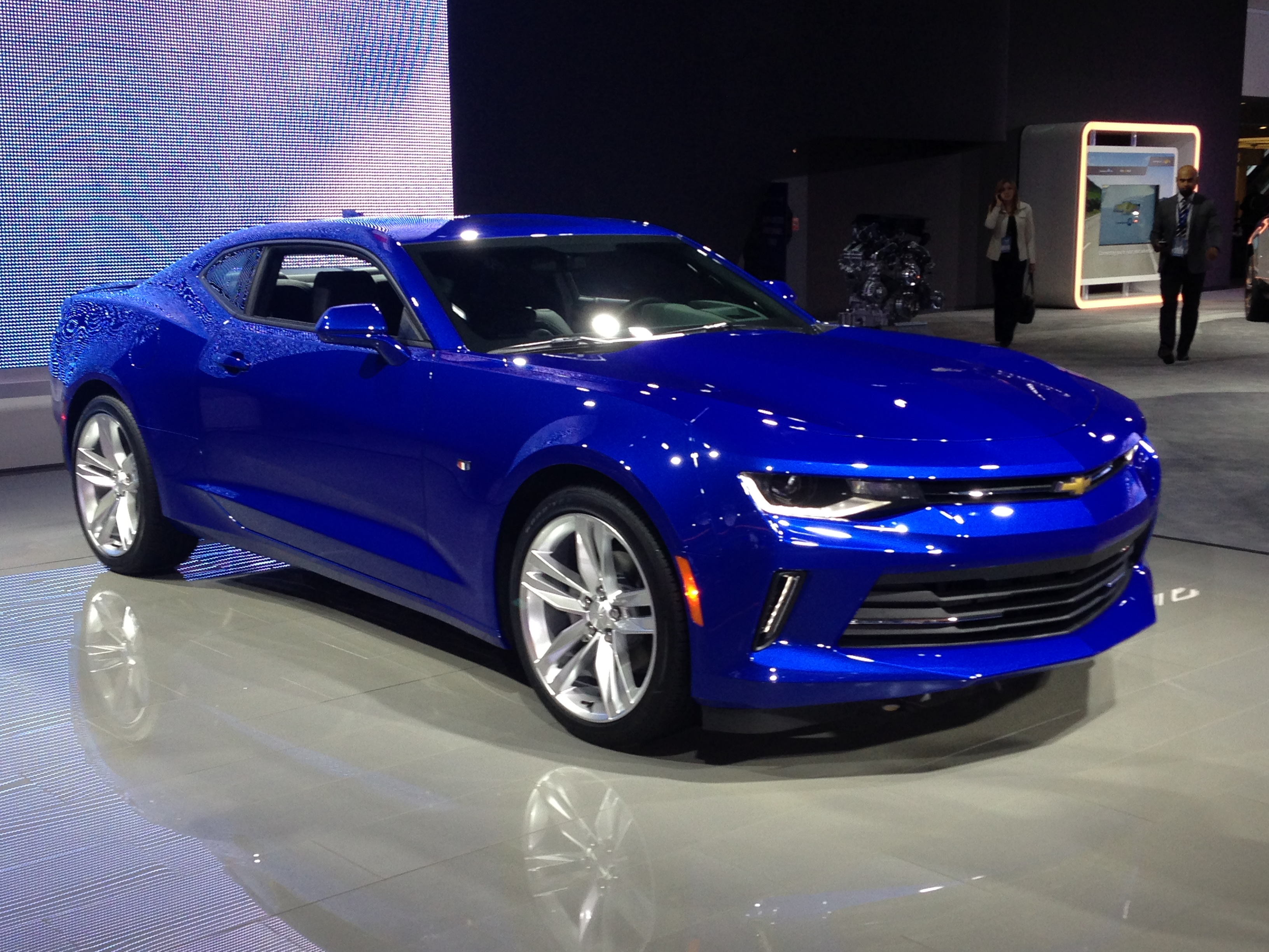 2016 Camaro. Motortrend's Car of the Year