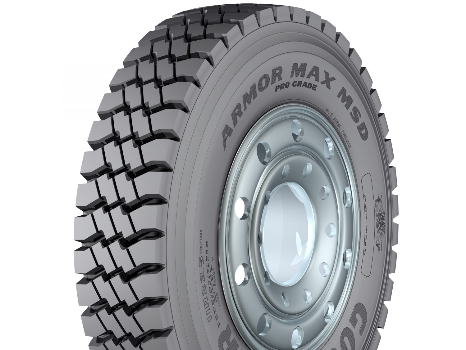 Here's the deal: Goodyear's Workhorse and Armor Max Pro