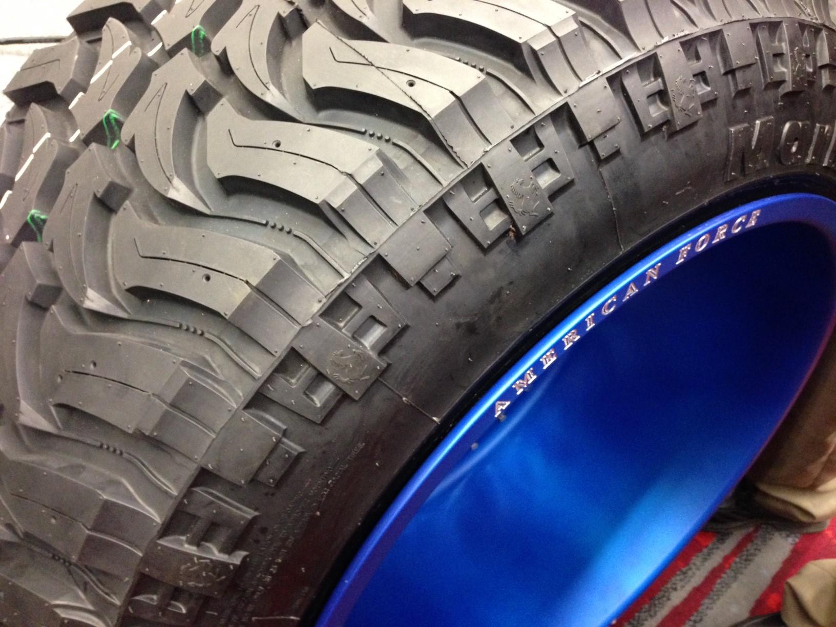 Sema American Force S 28 Inch Wheels A Big First
