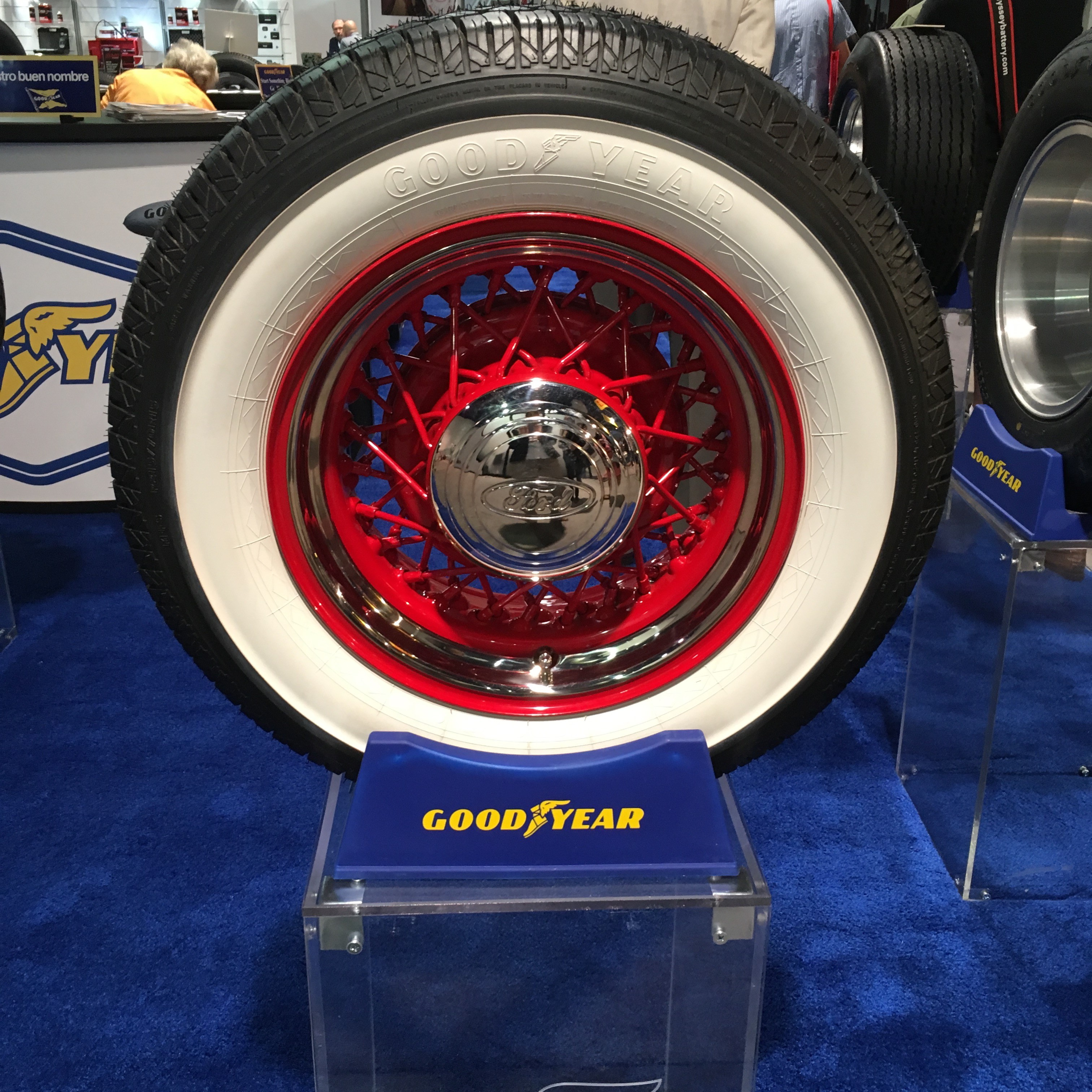 Kelsey A Lifetime Distributing Antique Goodyear Tires