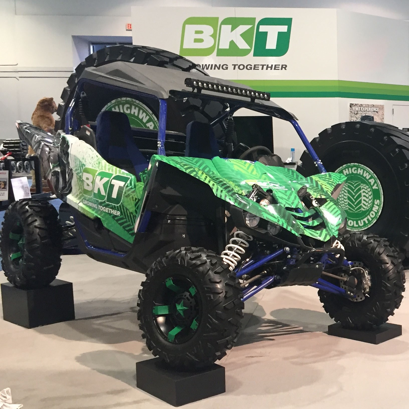 OTR: Check out the tires BKT unveiled at CONEXPO