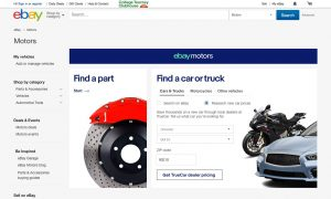 eBay Motors partners with TrueCar in the U.S. to offer buyers helpful tools when shopping for new vehicles. (PRNewsfoto/eBay Motors)