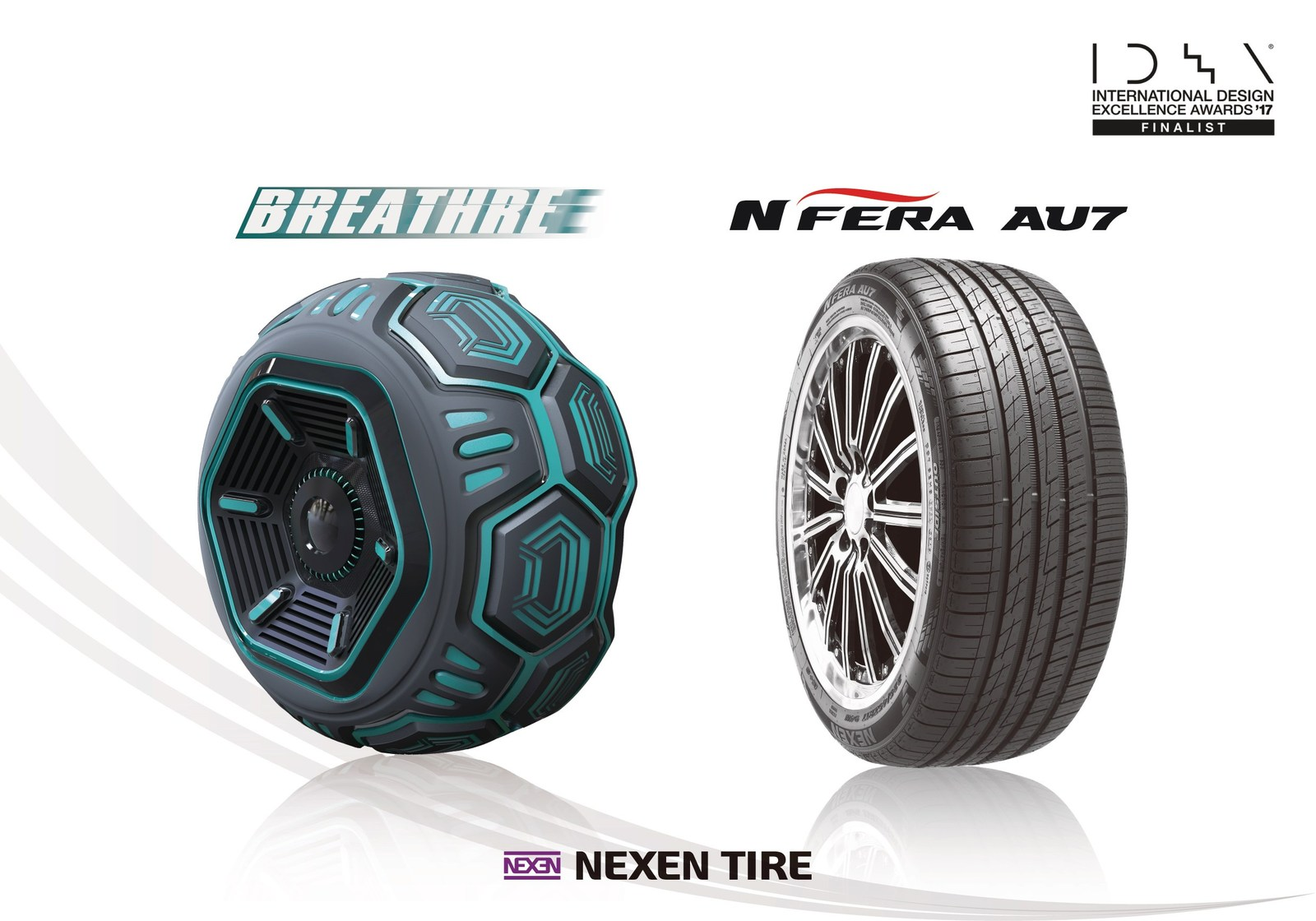 Nexen Tire Wins Two IDEA Design Awards (PRNewsfoto/Nexen Tire)