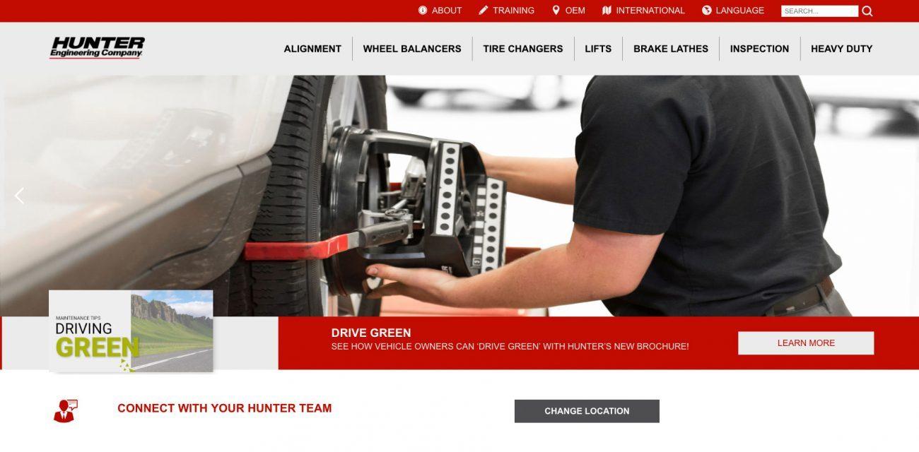 New Website blur