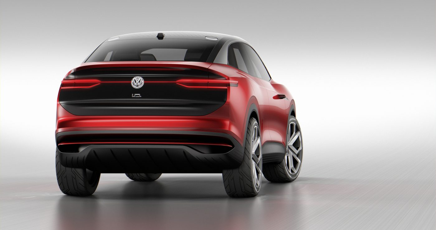 Volkswagen ID Crozz electric crossover concept updated at Frankfurt show