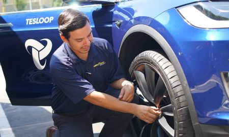 The Goodyear Tire & Rubber Company Announces Intelligent Tire Trial, Expands Fleet Management Solution for Semi-Autonomous Fleet. (PRNewsfoto/The Goodyear Tire & Rubber Comp)