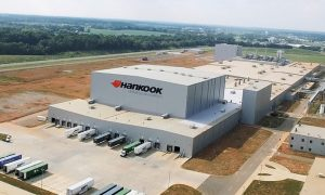 Hankook Tire's Tennessee Plant in Clarksville, Tenn., is the company's first manufacturing facility in the U.S., underscoring its commitment to technology, innovation and growth in North America. (PRNewsfoto/Hankook Tire America Corp.)