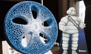 Michelin's Vision Concept Tire of the Future Selected Among TIME Magazine's '25 Best Inventions of 2017' (PRNewsfoto/Michelin)