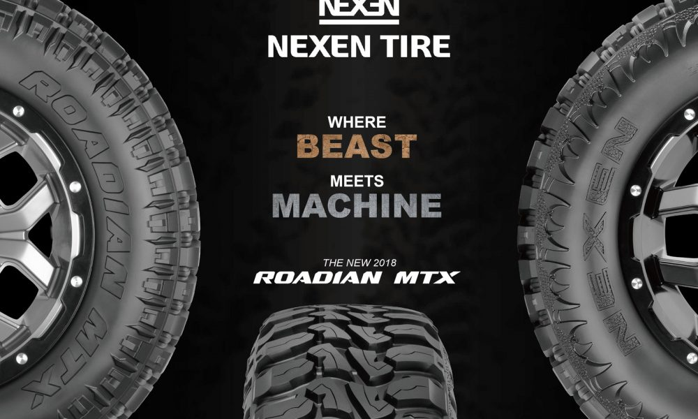 Nexen Tire Adds Mud-Terrain Tire the Roadian MTX to its Portfolio (PRNewsfoto/Nexen Tire)