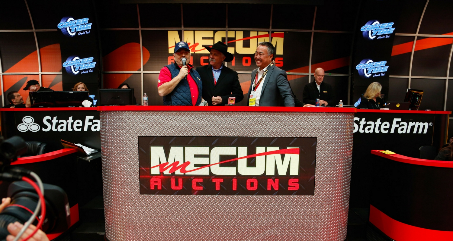 Coker Tire signs exclusive partnership with Mecum Auctions