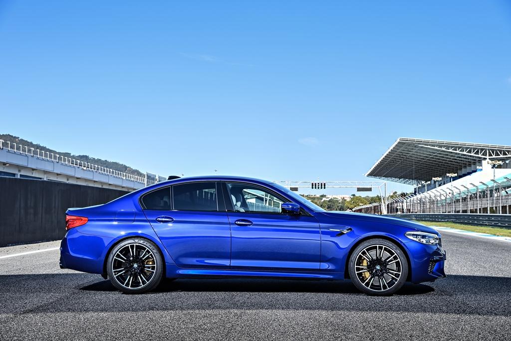 Pirelli designs custom P Zero tire for new BMW M5