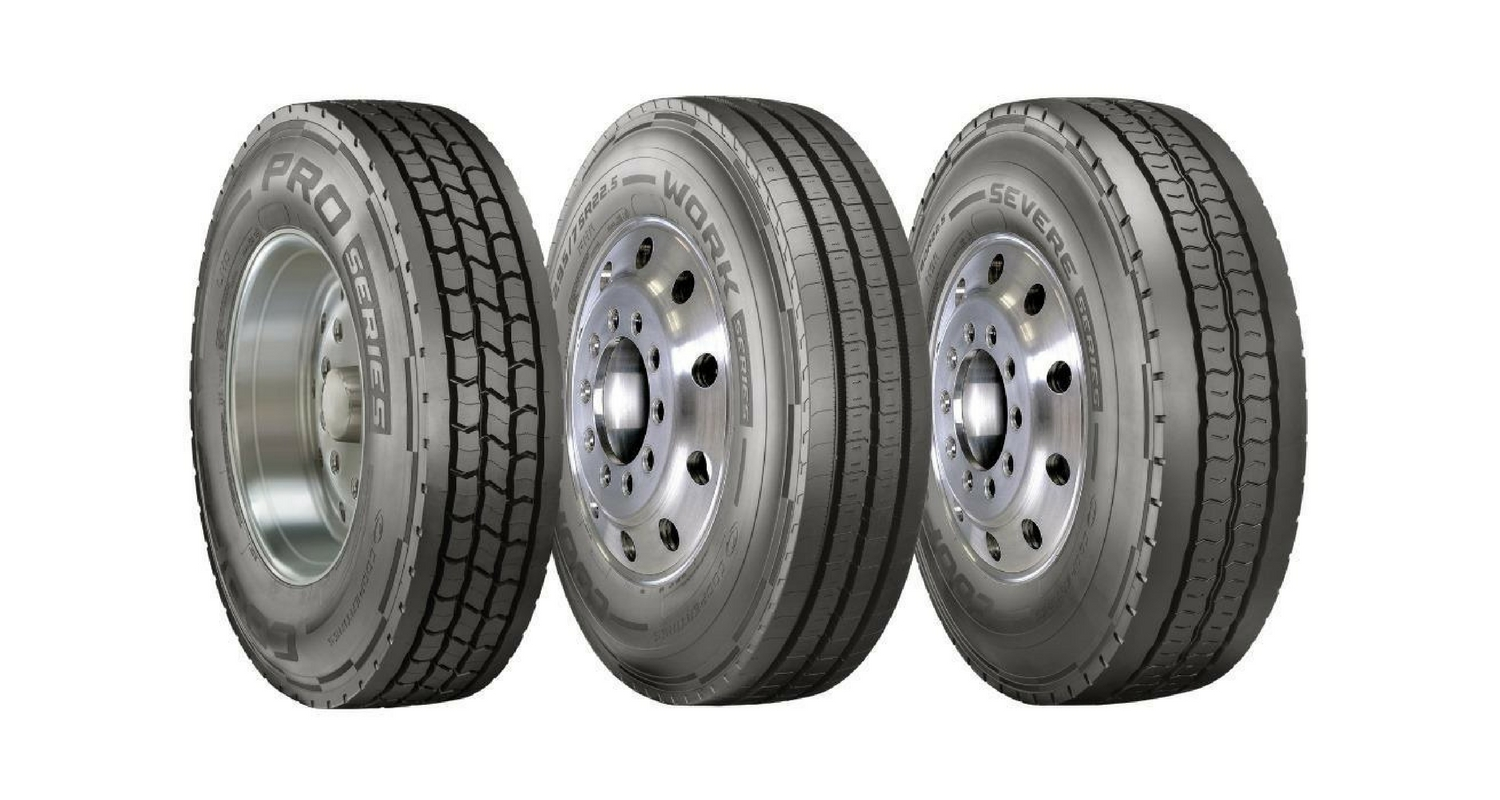 Cooper Tire Launches New Truck and Bus Radial Tires