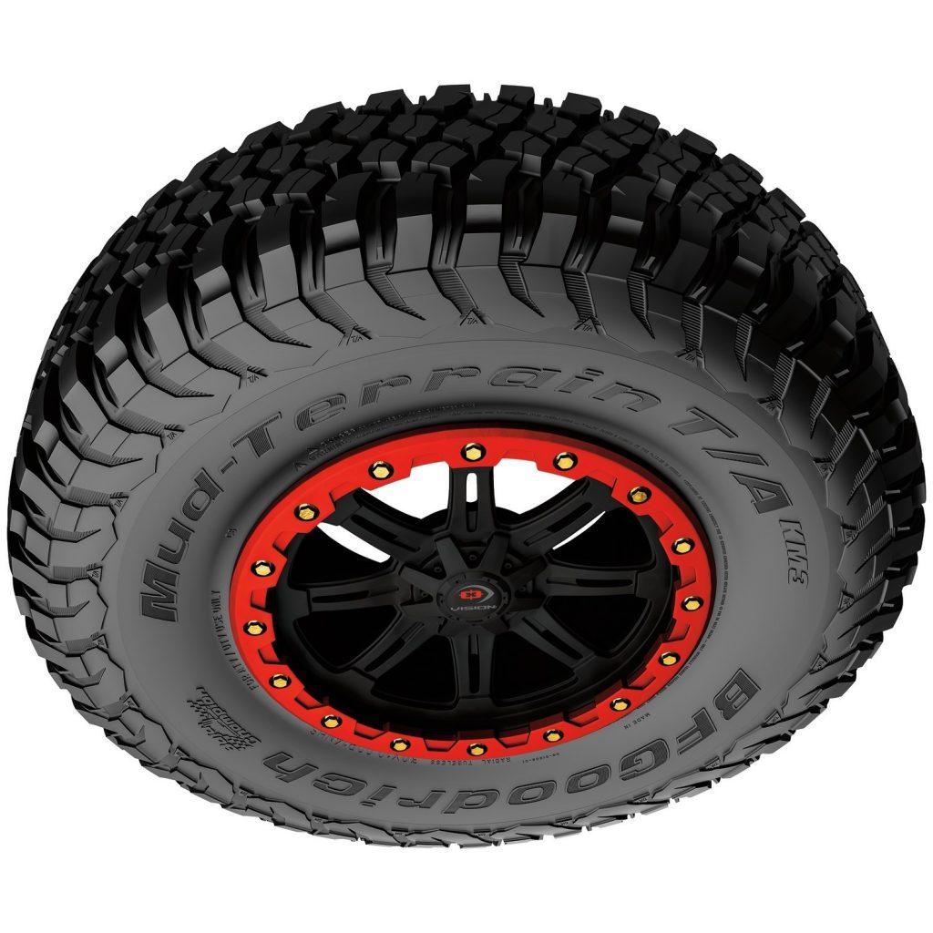 BFGoodrich Mud-Terrain T/A KM3 UTV Tire (PRNewsfoto/BFGoodrich)