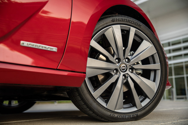 Hankook Tire will equip the 2019 Nissan Altima with its Kinergy GT tire [pattern H436], an all season tire renowned for its handling in both wet and dry conditions.