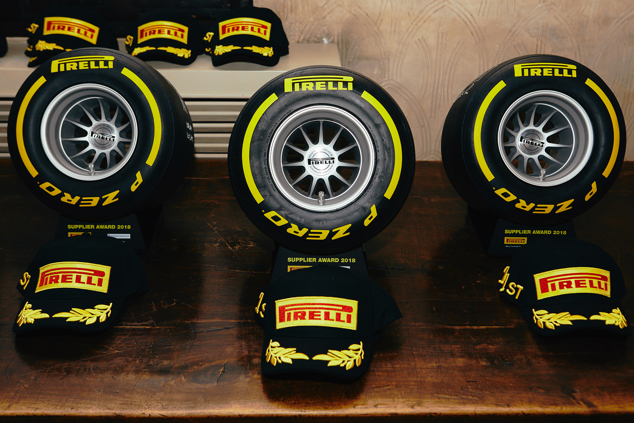 Pirelli Supplier Award press release