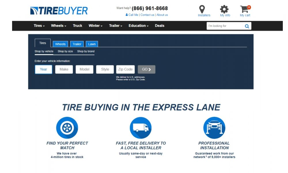 tirebuyer header