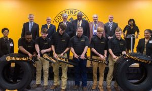 Continental Tire Header employee training center