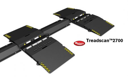 rotary treadscanner header