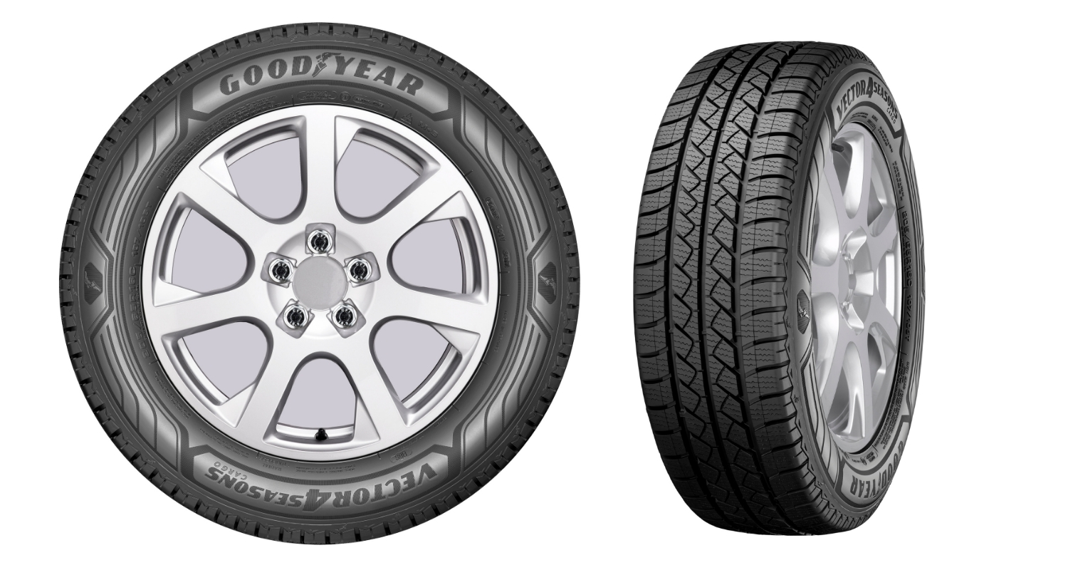 goodyear unveils vector 4seasons cargo tire for light trucks. Black Bedroom Furniture Sets. Home Design Ideas