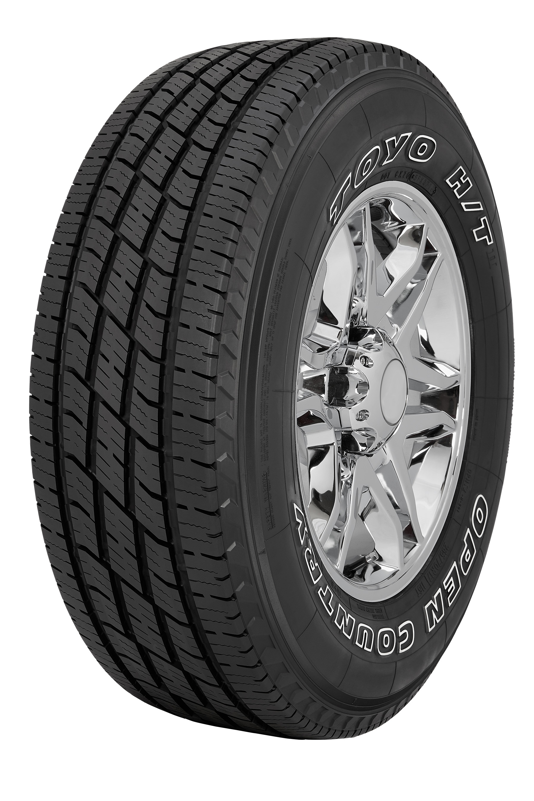 Toyo Tires White Letters >> Toyo Tires introduces the all-new Toyo Open Country H/T II