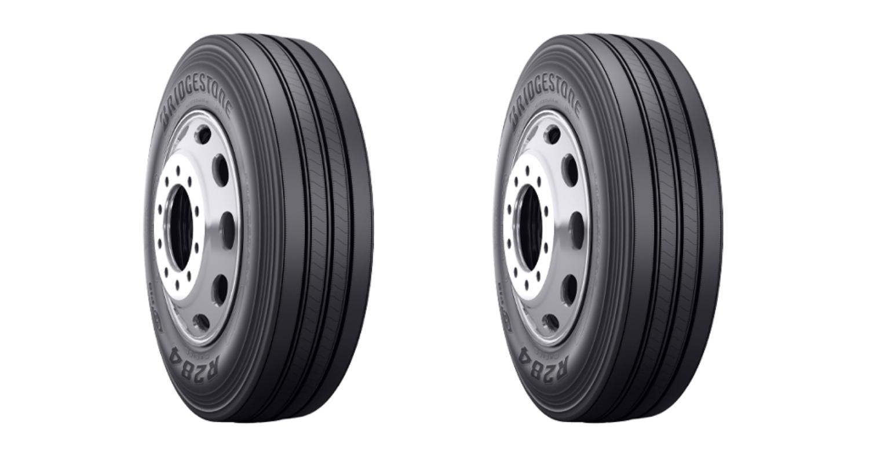 bridgestone R284 ecopia tire header