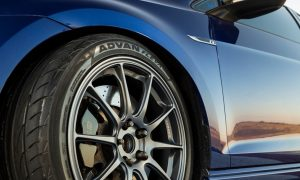 yokohama tire advan fleva header