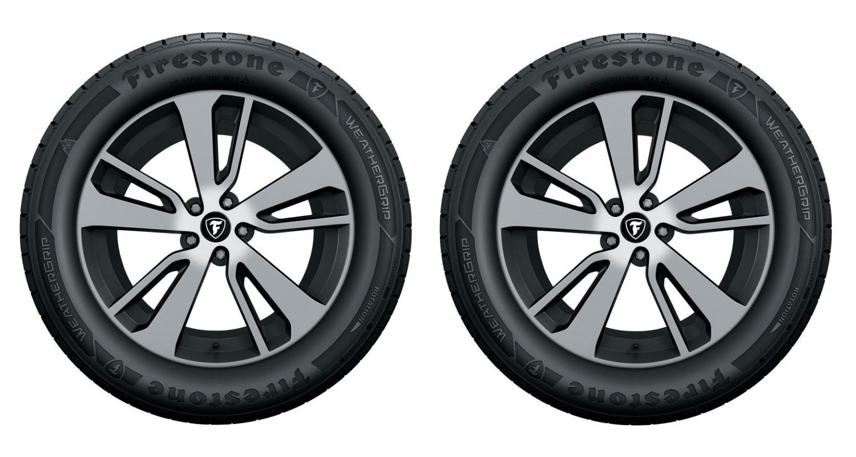 Bridgestone weathergrip tire header