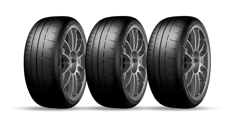 Goodyear Porsche 911 tire header