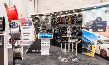 RTX Wheels SEMA Header