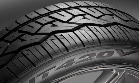Nitto NT420V tire header