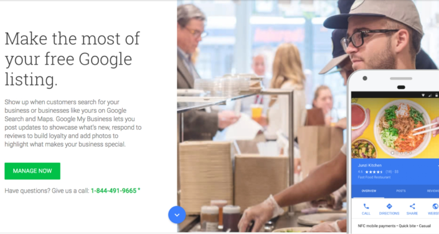 google my business tire header