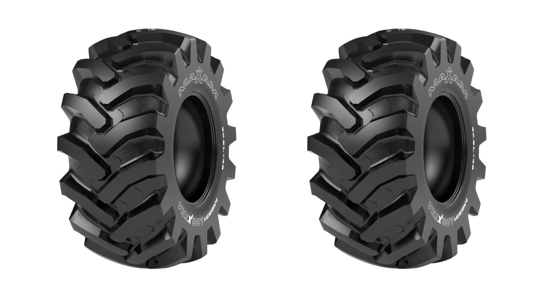 maxam logxtra tire header