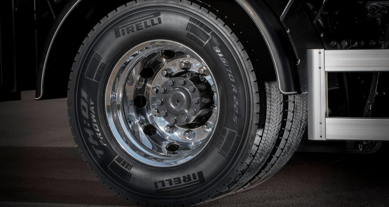 Prometeon Proway tire header