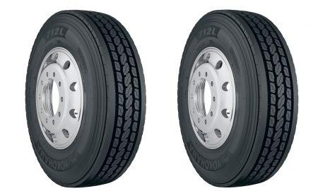 yokohama 715l long haul drive tire header