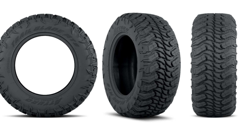 Atturo Trail Blade MTS tire SEMA header