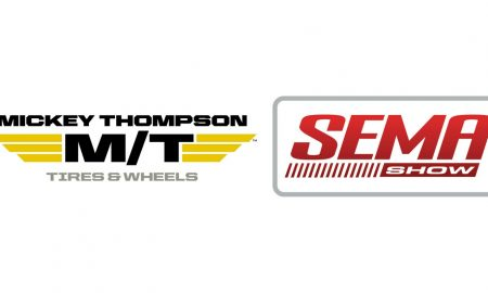 Mickey Thompson SEMA tire header
