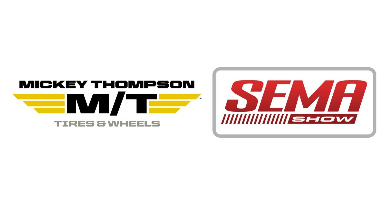 Mickey Thompson SEMA tire header