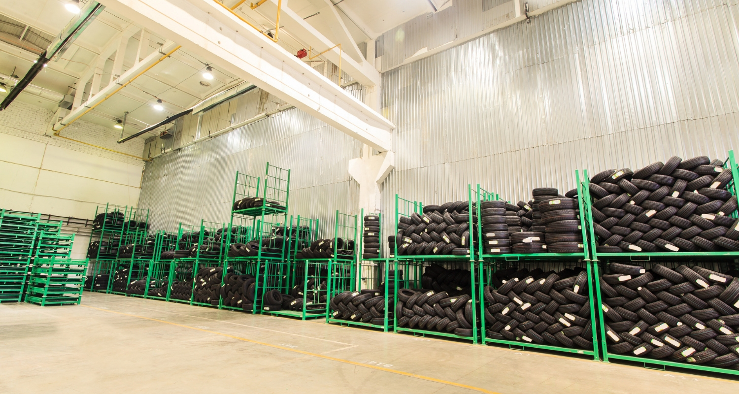 tire recycling plant header