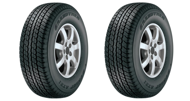 Dunlop Lexus GX tire header