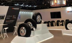 Hankook Solutrans Tire Header