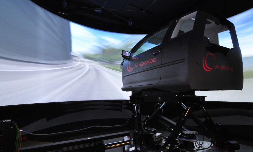 Goodyear driving simulator header