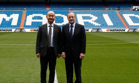 Hankook Real Madrid Tire header