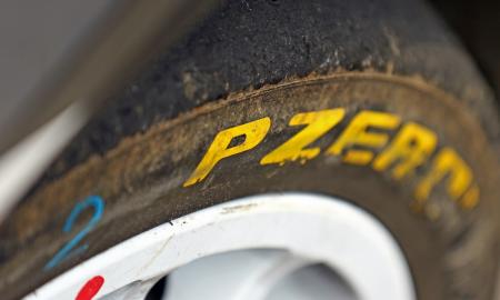 Pirelli WRC tire header