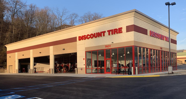 Discount Tire pennyslvania header