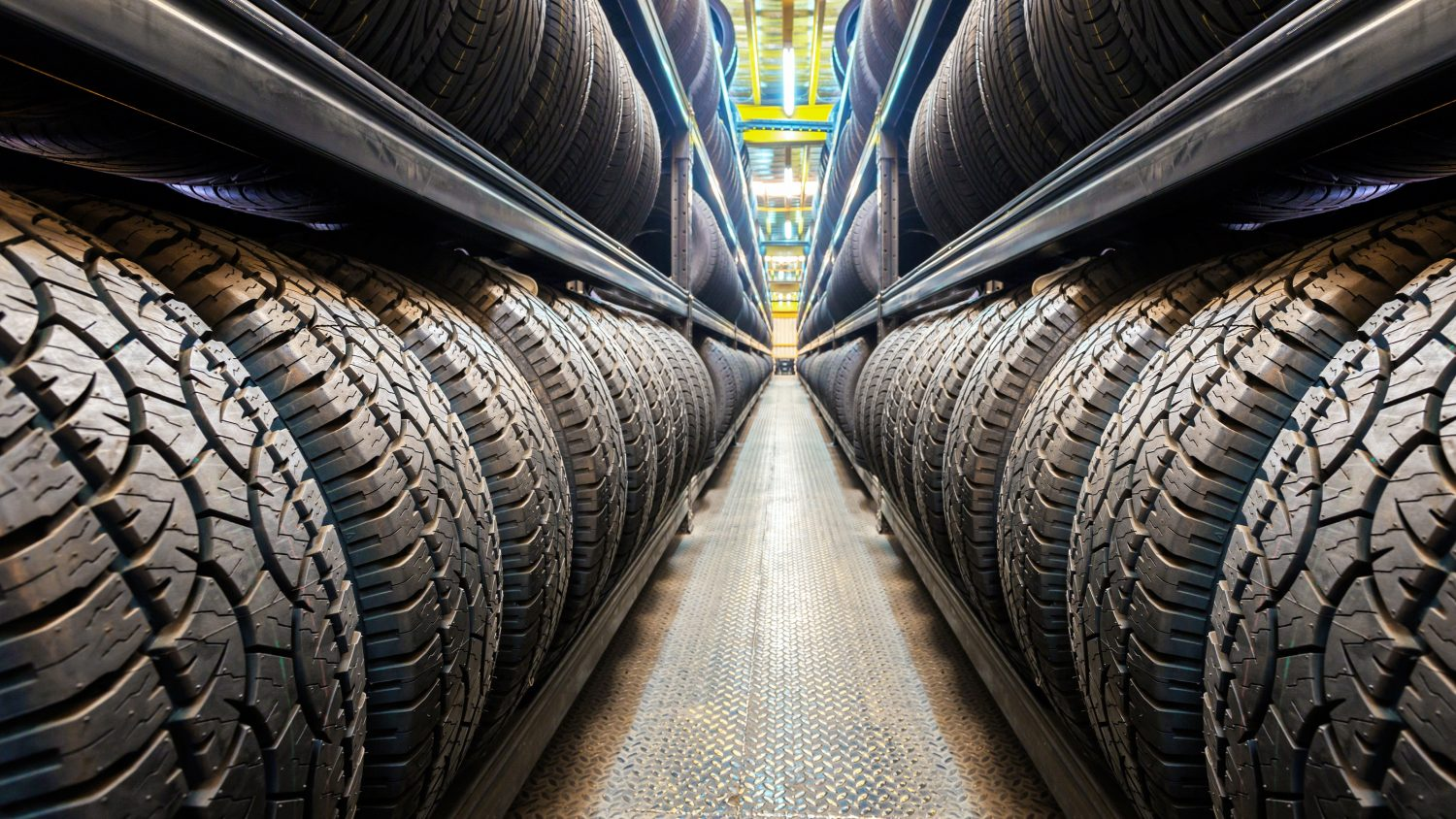 Tire industry header