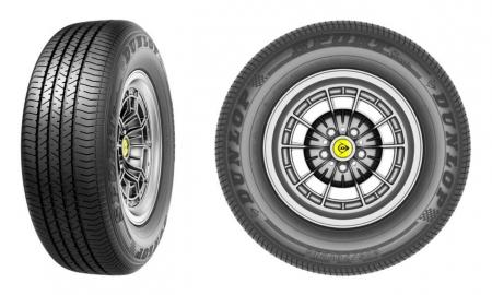 Coker Tire Dunlop Classic Radial Tire Header