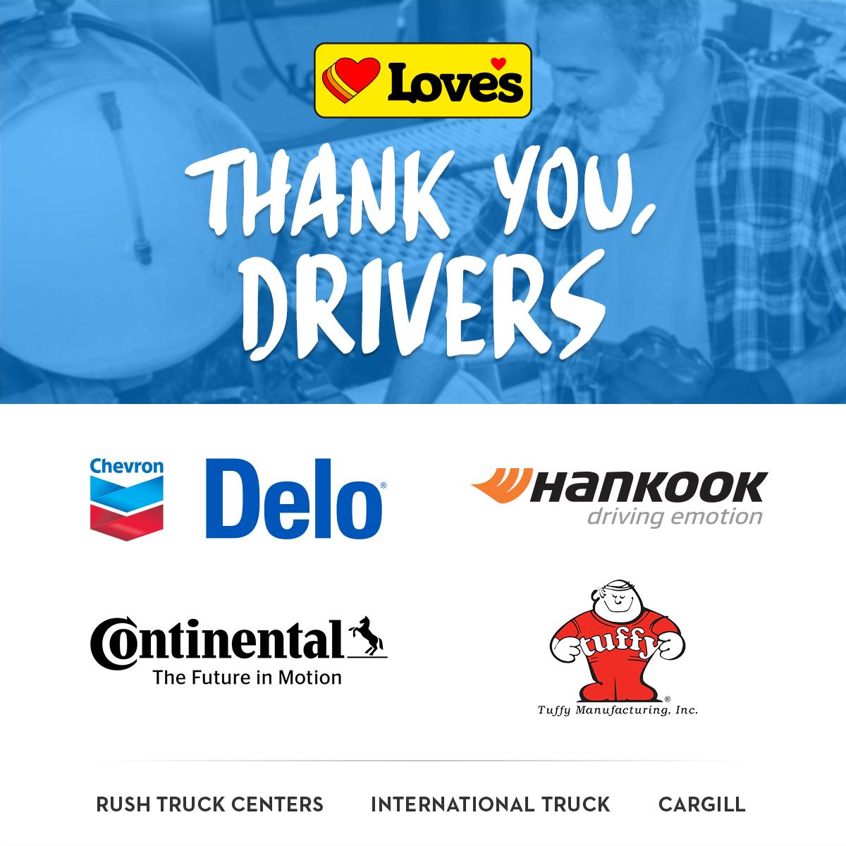 Thank you drivers logos 1