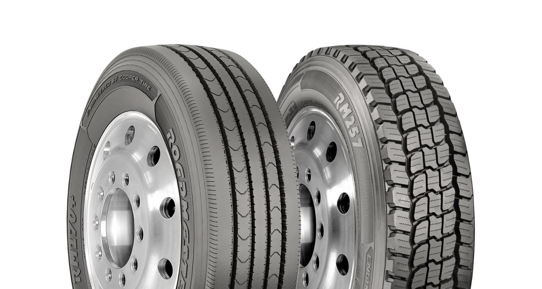 Cooper Tire roadmaster delivery truck header