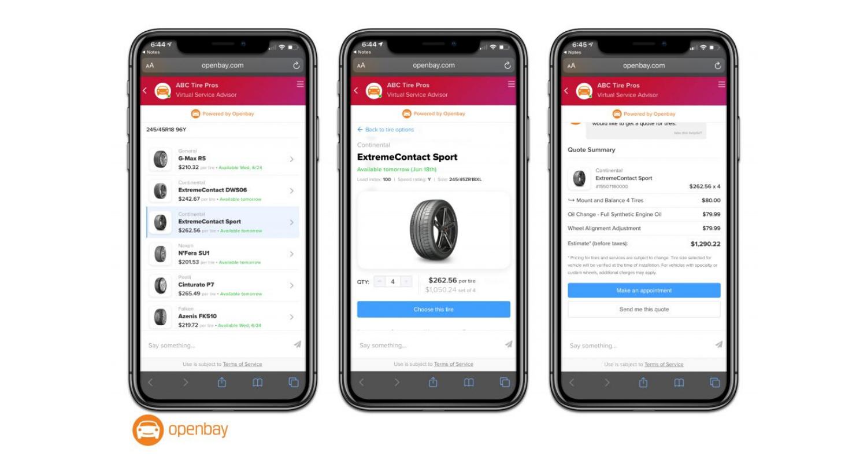 openbay otis tire chat header