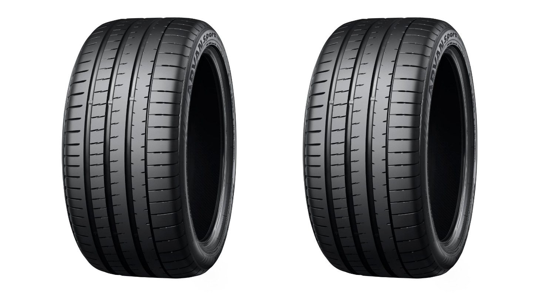 Yokohama Advan Sport V107 Mercedes tire header